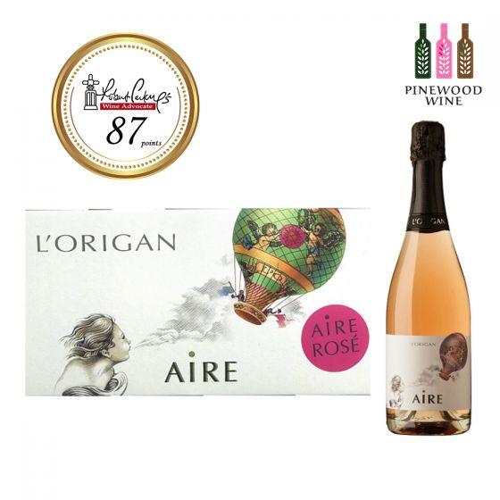 [原箱] AIRE Rosé brut nature 2014, RP 87 玫瑰氣泡酒 -6 支