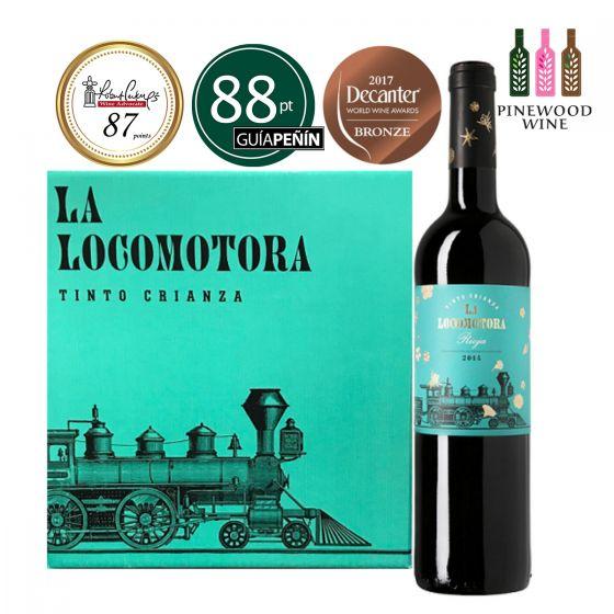 [原箱] La Locomotora Crianza 2014, RP 87 葡萄列車陳釀 -6 支
