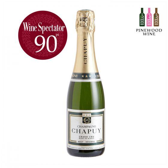 查普王珍藏白中白香檳 WS 90 375ml Chapuy Brut Reserve Blanc de Blancs Grand