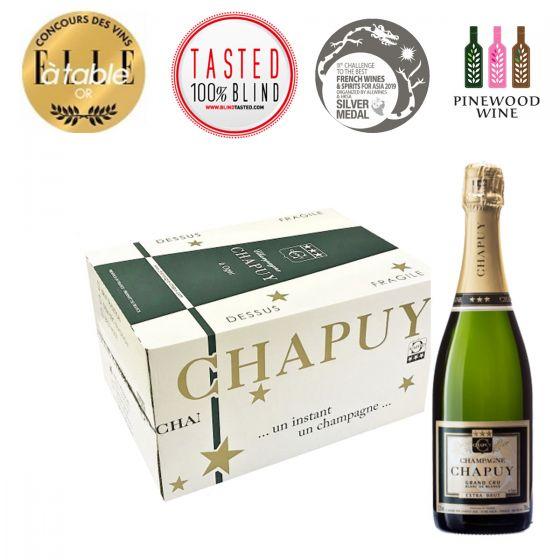 [原箱] Extra Brut Reserve Blanc de Blancs, Grand Cru 查普王珍藏白中白特級香檳 -6 支