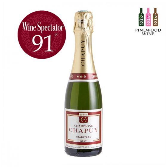 查普王傳統乾型香檳 Chapuy Brut Tradition , WS 91 375ml