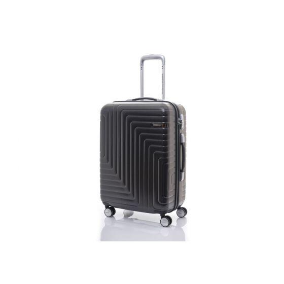 American Tourister - DARTZ 65厘米/24吋 TSA 行李箱 (啞光黑色/格紋)