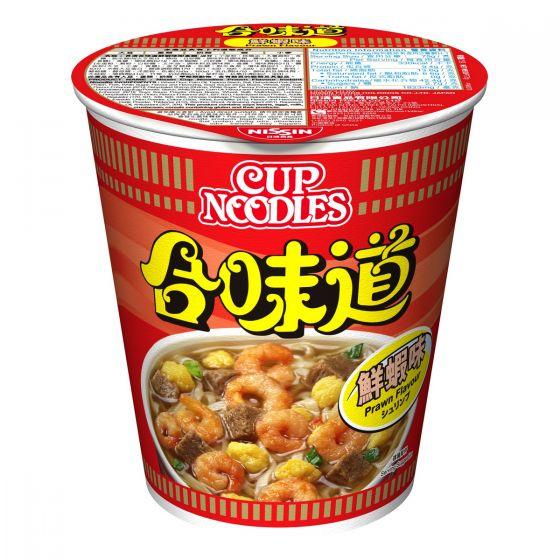Nissin-1001-001-101 日清 -合味道杯麵蝦味 [原箱]
