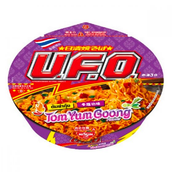 Nissin-1003-004-112 日清 -UFO炒麵冬蔭功海鮮味 [原箱]