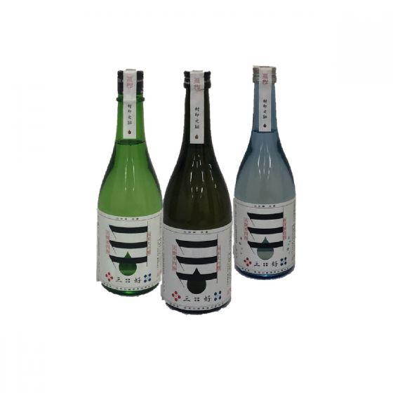 三好 - 清酒套裝 720ml (藍色/黑色/綠色)(1 套 3支) PAK_2