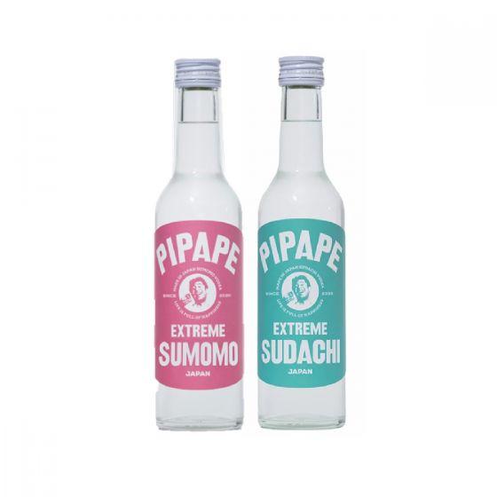 Pipape - 日本伏特加 300ml (酸橙 & 李子味)(1套 2支) PAK_3