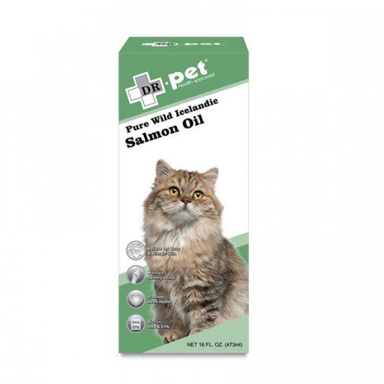 DR. pet - 純正野生冰島三文魚油 (16oz / 473ml) PET-SO-01