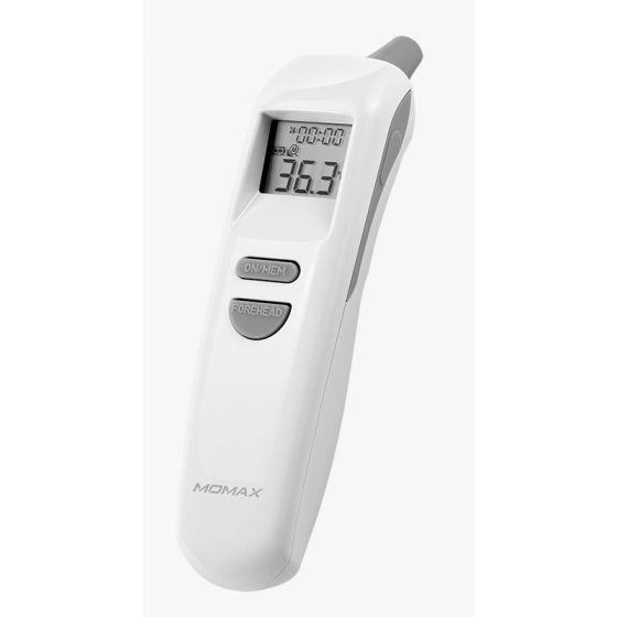 MOMAX 1-HEALTH² 二合一紅外線額頭/耳溫度計