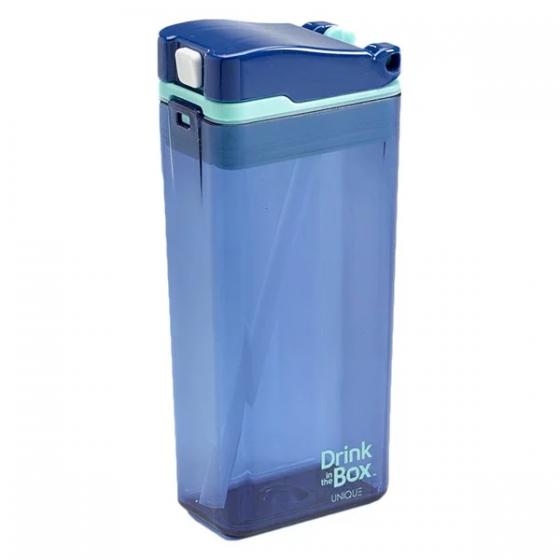 Precidio - Drink in the Box 吸管杯 (12安士) - 藍色 PR-1012BL