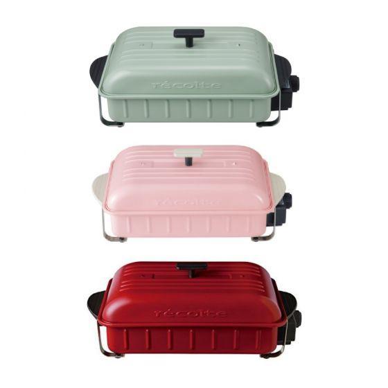 récolte - 日式電熱鍋  (紅色 / 粉紅色/  綠色) RBQ-1
