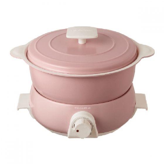 récolte 日式小電鍋Fete (粉紅色) RPD-3(PK) RPD-3-PK