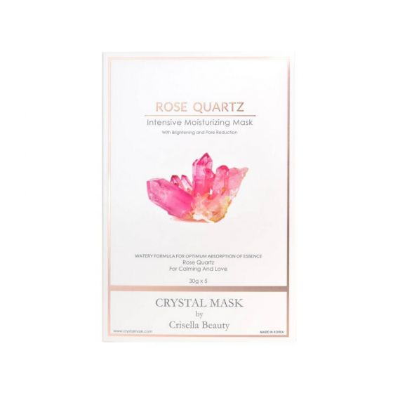 Crystal Mask - [深層鎖水] 600秒粉紅水晶急救面膜 RQCM2001-5-B