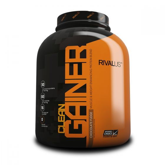Rivalus Clean Gainer 5磅增肌粉 - 流心朱古力 RVLCGMGPCHOF5LBS