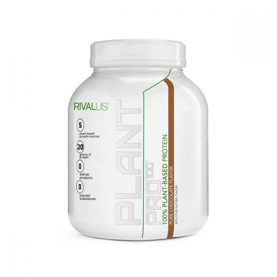 Rivalus 100%植物蛋白粉 630克 - 朱古力 RVLPP100VPCHO630G