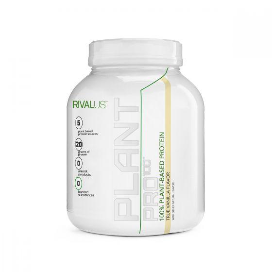 Rivalus 100%植物蛋白粉 630克 - 雲呢拿 RVLPP100VPVAN630G