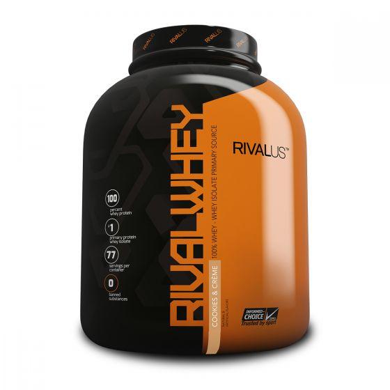 Rivalus 乳清蛋白粉 5磅 - 奶油曲奇 RVLRWYBPCNC5LBS