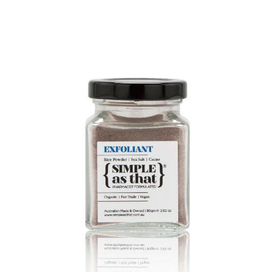 SIMPLE as That 天然海鹽可可去角質磨砂護理 SAT003