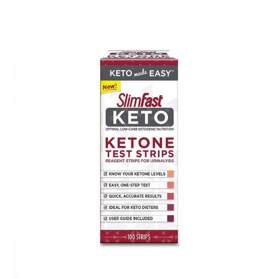 Slimfast 血酮指數測試條(100條/盒) SF-KETO-KTS-UNF100S
