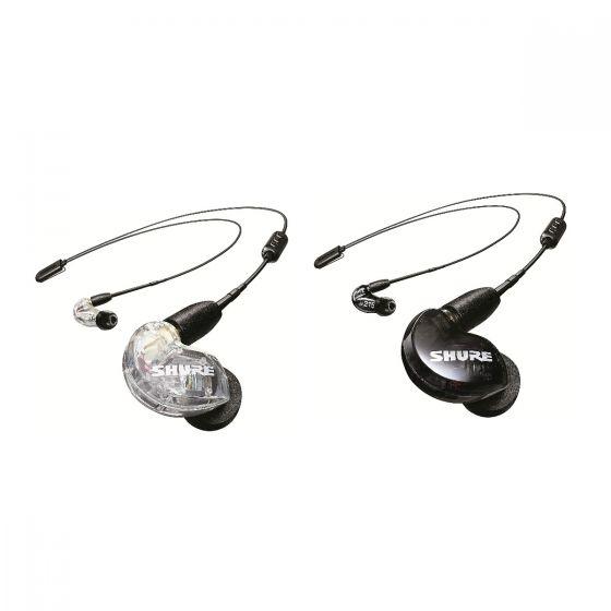Shure SE215 Wireless 專業級無線監聽隔音耳機 (RMCE-BT2 藍牙5.0版) (2色) SHURE_SE215