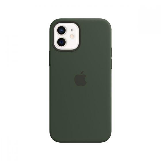 iPhone 12 mini MagSafe 矽膠護殼 - 塞浦路斯綠色
