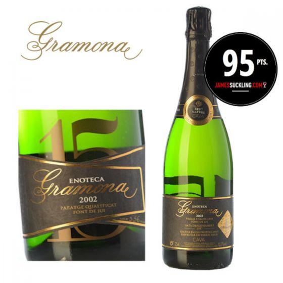 Gramona - Enoteca Brut Nature 2002 (RP 95) 西班牙氣泡酒 SPGR12-02