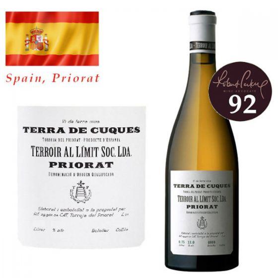 Terroir Al Limit - Terra de Cuques 2013 (RP 92) 西班牙白酒 SPTE06-13