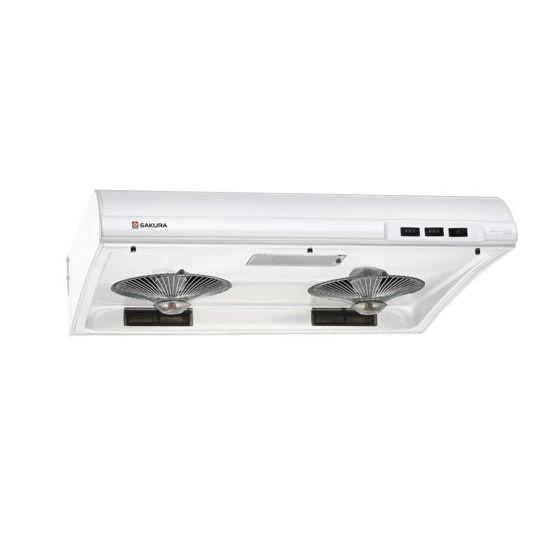 SAKURA - 櫻花牌 - 70厘米 易拆式 抽油煙機 (白色 / 不鏽鋼) SR-2883S