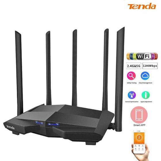 Tenda - AC11 - AC1200 MU-MIMO Dual Band Gigabit Router路由器 STLTEN112