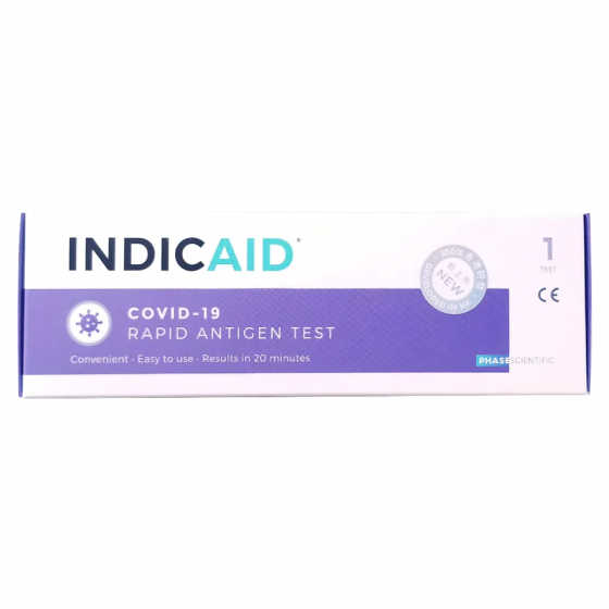 INDICAID ®妥析®新冠病毒快速抗原檢測試劑盒