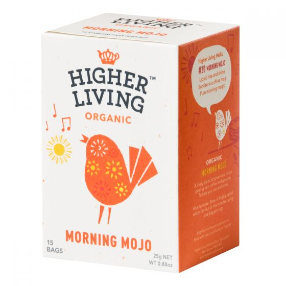 Higher Living - 英國有機茶包- 健神茶 TB-HLMOMO415