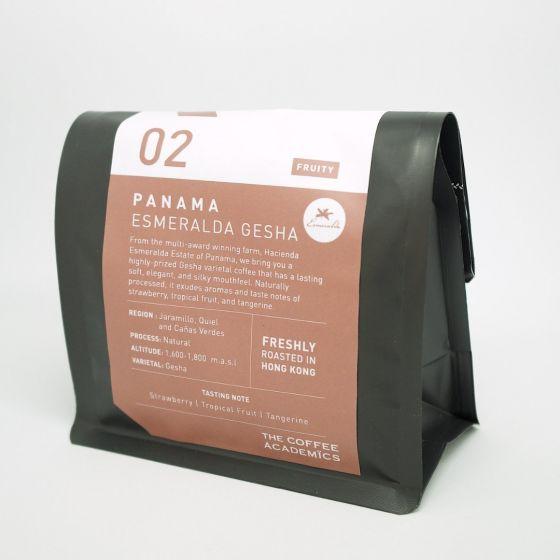 咖啡學研 - 02巴拿馬藝妓莊園日曬咖啡豆 TCA-SO002