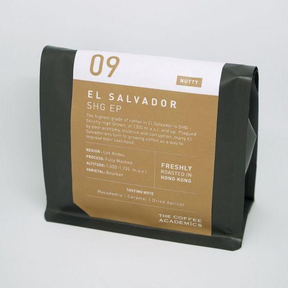 咖啡學研 - 09薩爾瓦多SHGEP咖啡豆 TCA-SO009