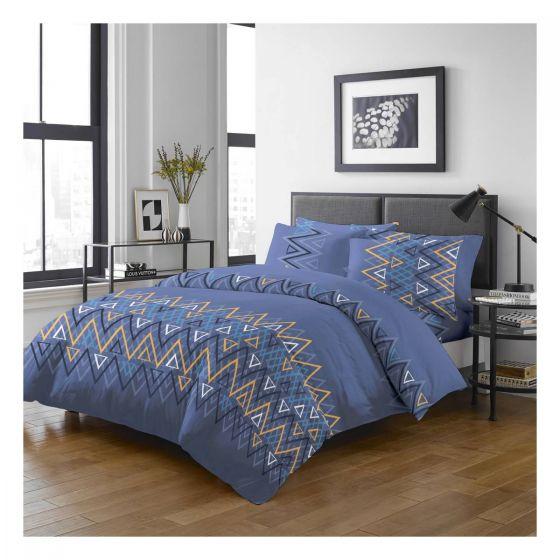 Uji Bedding - 1000針絲般綿活性印花床品套裝 [5203] (4款尺寸可選)