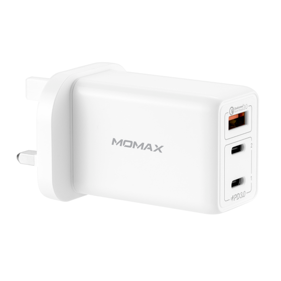 Momax One Plug 3-USB智能充電器 (UM20)