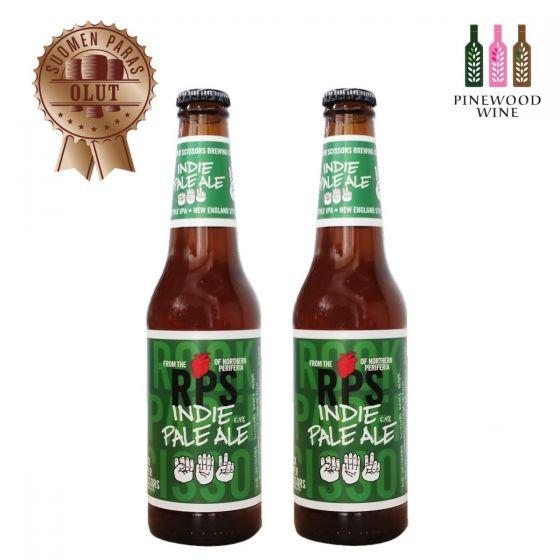 Rock Paper Scissors - 芬蘭淡色艾爾啤酒 IPA (alc. 5.4%) 330ml x 2 支