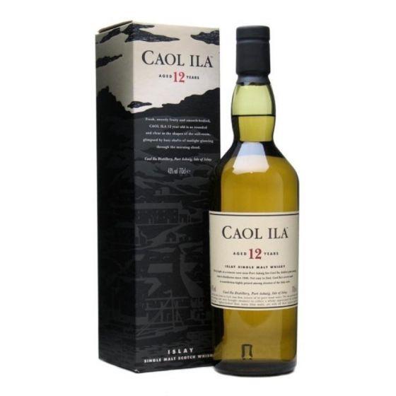 Caol Ila - 12年單一麥芽威士忌 (700ml x 1 支) (連盒)  WCAL00001