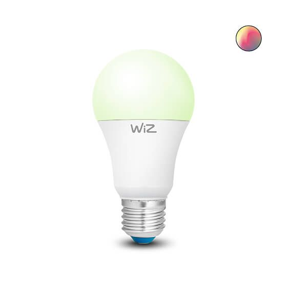 Wiz Colors LED A60 E27 full color Wi-Fi connected smart light bulb (WZ20026081)