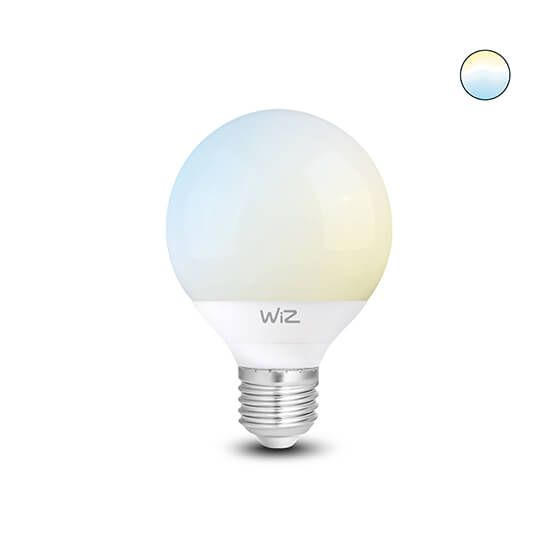 Wiz White LED G95 E27 White color Wi-Fi connected smart light bulb (WZ20089571)