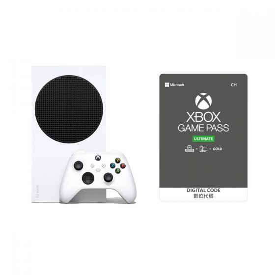 Xbox Series S套裝連12個月Xbox Game Pass Ultimate