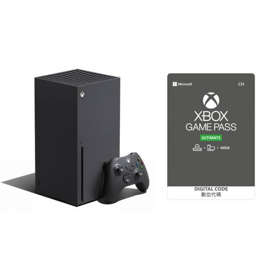 Xbox Series X 套裝連 24個月 Xbox Game Pass Ultimate