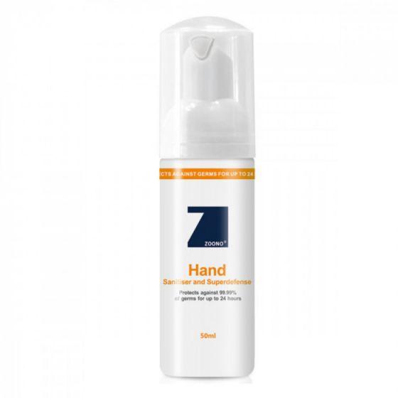 ZOONO 24小時長效殺菌護手液 50毫升 ZOONO-GF24-50