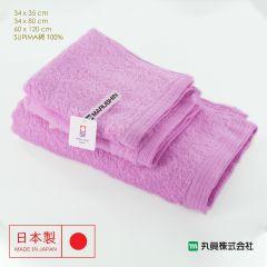 Imabari Zero Twist SUPIMA Cotton Towel (Pink) 00700SUIMA-PINK