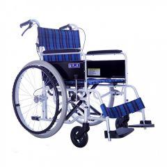 日本Kawamura BM 基礎調節型輪椅18寸-座寬細轆