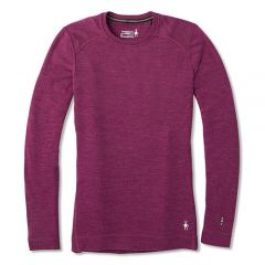Smartwool 女裝羊毛底衫 W's Merino 250 Baselayer Crew-Sangria Heather-NP224