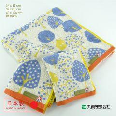 Imabari Zero Twist Cotton Jacquard Towel 00305ZEROTWIST