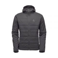 Black Diamond Mens First Light Hoody-Smoke-Y4FG 793661316473