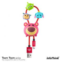 InfoThink Tsum Tsum iPhone / iPad 快速充電及傳輸線