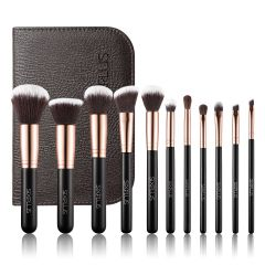 SIXPLUS 11Pcs Golden Makeup Brush Set 101921