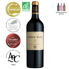 Chateau Bazin AOC Côtes du Marmandais 2015 有機紅酒 10217705
