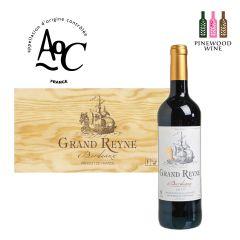 Grand Reyne - [原木箱]法國波爾多金龍船紅酒 AOC Bordeaux 2017 (6支) 10218371